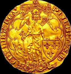 Ange d'or Philippe VI (1328-1350)