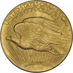 Double Eagle 1933, Vorderseite, Kopie