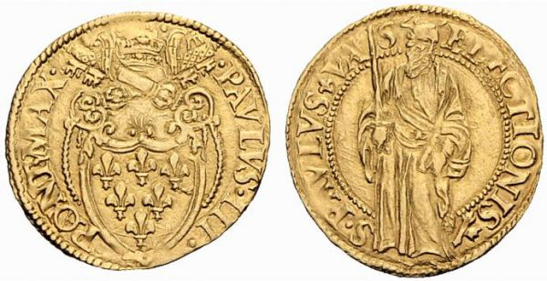 Scudo d'or, Papst Paul III. (1534-1549)