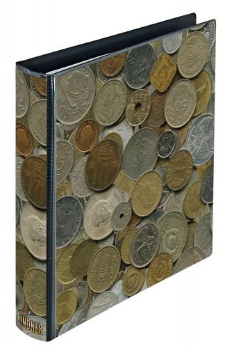 Münzalbum Karat im Münzen-Design, leer