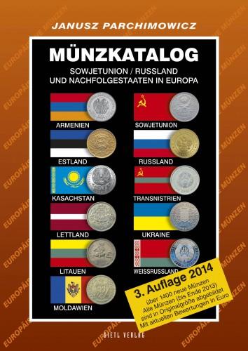 Münzkatalog Sowjetunion, Russland und Nachfolgestaaten in Europa