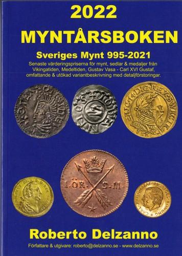 2022 MYNTARSBOKEN. Sveriges Mynt 995-2021
