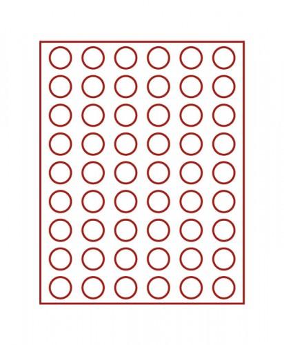 Münzenbox (runde Vertiefungen) 26.75 mm Ø