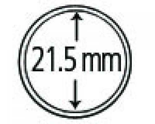 Münzendosen (Münzkapseln) 21.5 mm