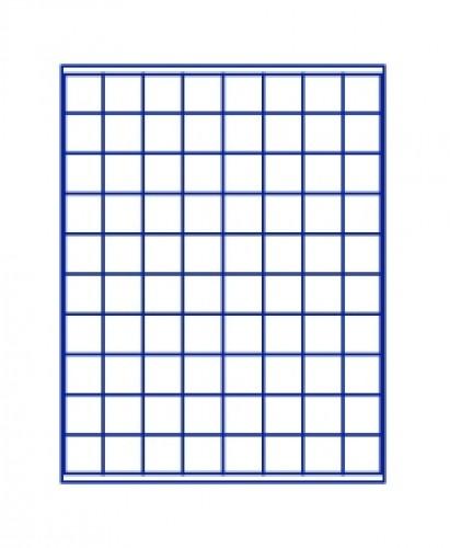 Münzenbox Marineblau (quadratische Vertiefungen) 24 mm Ø