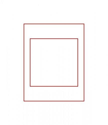 Münzenbox (quadratische Vertiefungen) 150 x 150 mm Ø