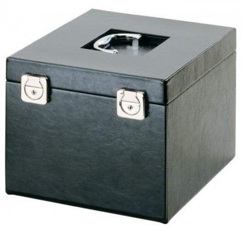 Boxen-Koffer compact mit Kunstlederbezug