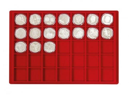 Münztableau für 35 Münzen bis 39 mm Durchmesser