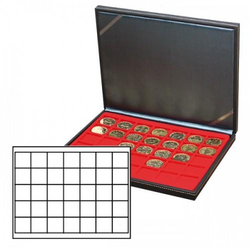 Münzkassette NERA M mit 35 quadratischen Fächern