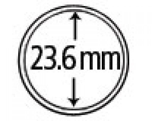 Münzendosen (Münzkapseln) 23.6 mm