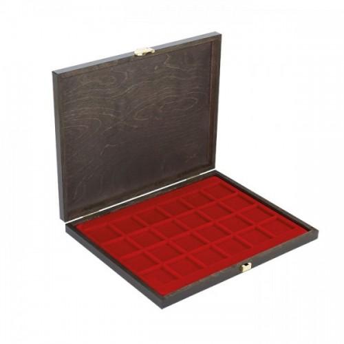 Münzkassette CARUS 1 für mit 24 Fächern für Münzen bis 42 mm