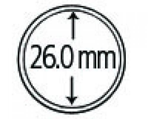 Münzendosen (Münzkapseln) 26 mm