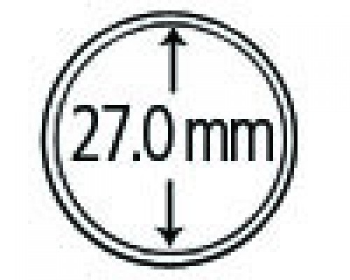 Münzendosen (Münzkapseln) 27 mm