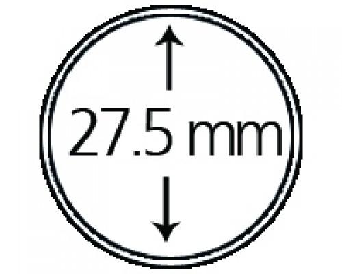 Münzendosen (Münzkapseln) 27.5 mm