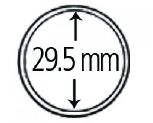 Münzendosen (Münzkapseln) 29.5 mm