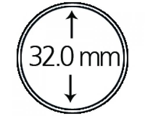 Münzendosen (Münzkapseln) 32 mm