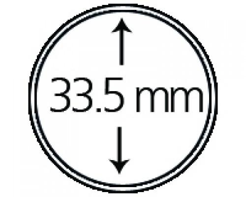 Münzendosen (Münzkapseln) 33.5 mm 10er Packung