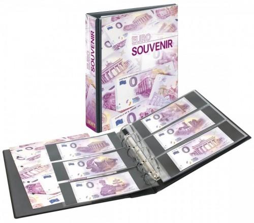 Publica M Sammelalbum für Euro Souvenir mit 10 Blättern