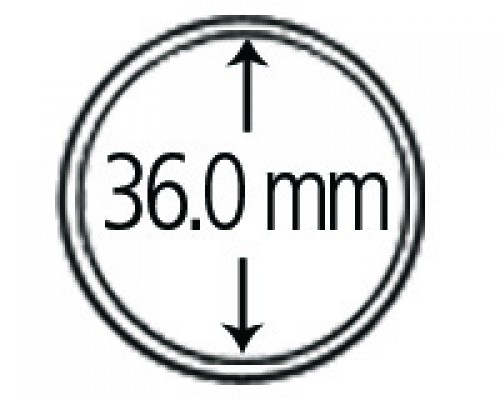 Münzendosen (Münzkapseln) 36 mm