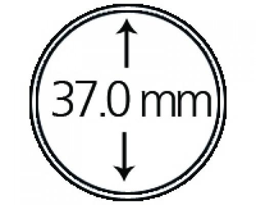 Münzendosen (Münzkapseln) 37 mm