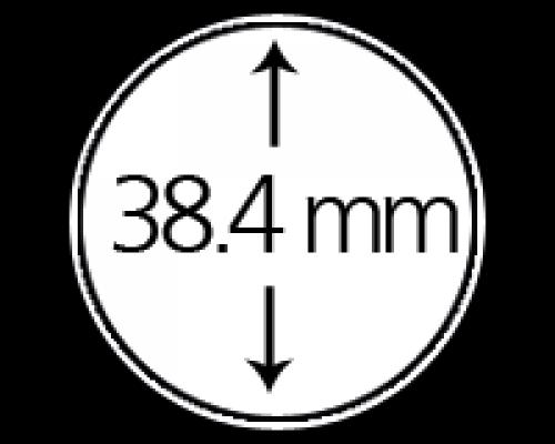 Münzendosen (Münzkapseln) 38.4 mm 10er Packung