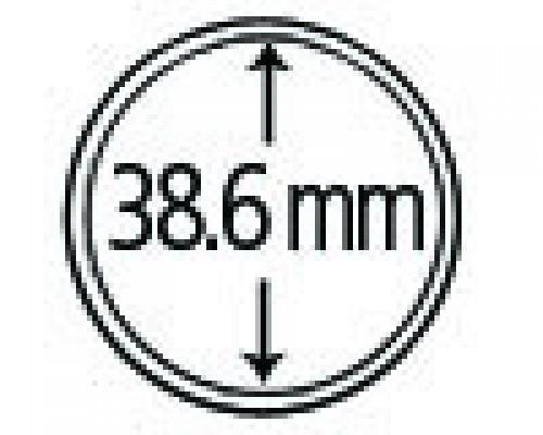 Münzendosen (Münzkapseln) 38.6 mm