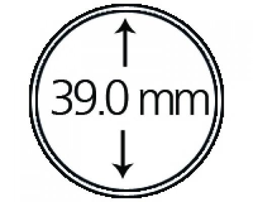 Münzendosen (Münzkapseln) 39 mm, spezial