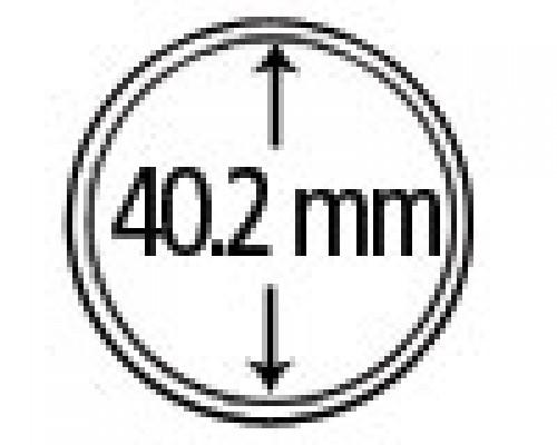 Münzkapseln aus Plexiglas 40.2 mm 10er Packung