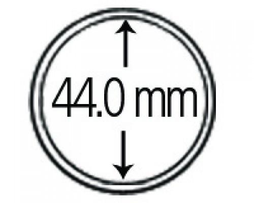Münzkapseln aus Polystyrol 44.0 mm 10er Packung