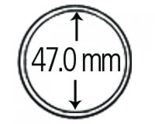 Münzendosen (Münzkapseln) 47 mm