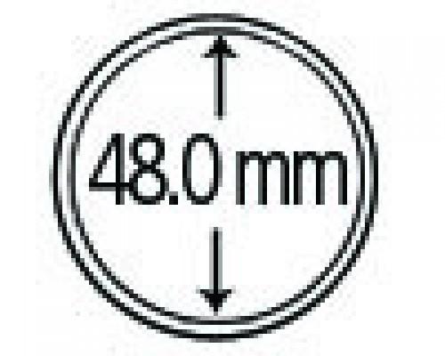 Münzendosen (Münzkapseln) 48 mm