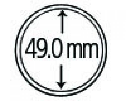 Münzendosen (Münzkapseln) 49 mm