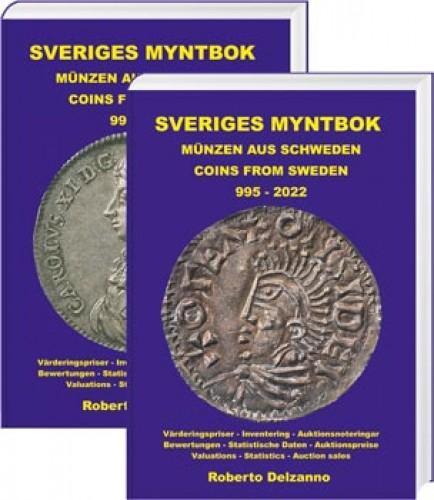 Sveriges Myntbok – Münzen aus Schweden/Coins from Sweden 995-2022