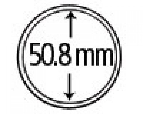 Münzendosen (Münzkapseln) 50.8 mm