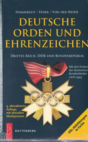 Deutsche Orden und Ehrenzeichen Drittes Reich, DDR und Bundesrepublik