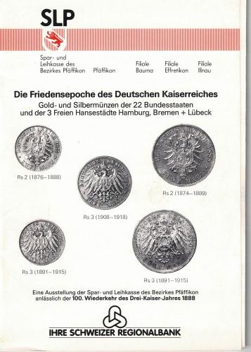 Die Friedensepoche des deutschen Kaiserreiches