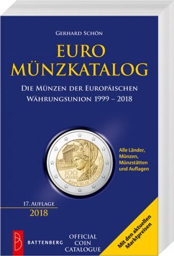 EURO Münzkatalog 1999 - 2018