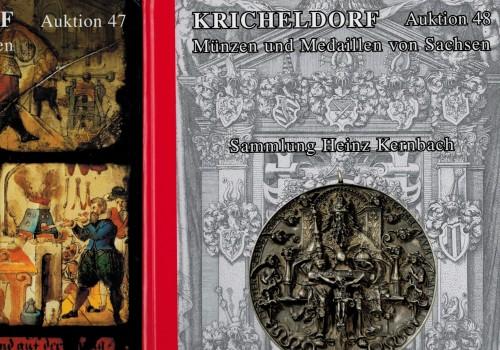 Auktionskataloge Kricheldorf  Auktion 47 und 48
