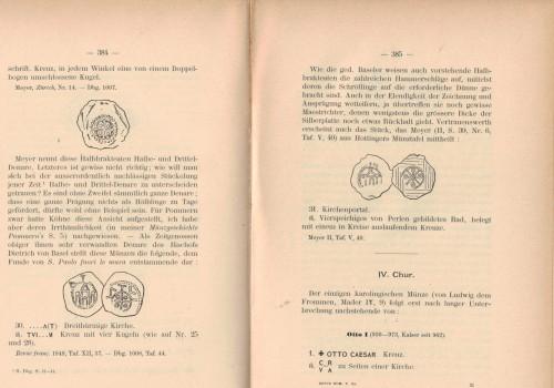Revue Suisse de Numismatique 1901 (antiquarisch)