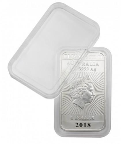 Rechteckige Münzendosen (Münzkapseln)