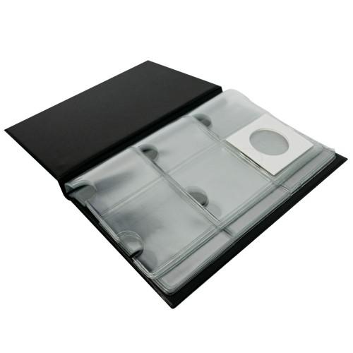 Taschenalbum für 60 Münzrähmchen