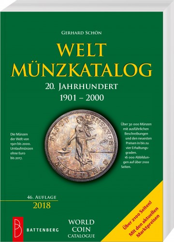Weltmünzkatalog 20. Jahrundert, 1901 - 2000