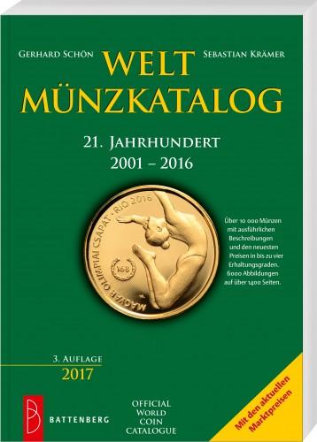 Weltmünzkatalog 21. Jahhundert 2001-2016