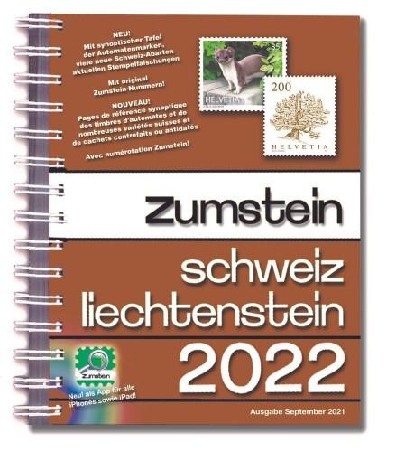 Zumstein Schweiz/Liechtenstein 2022 mit Spiralbindung