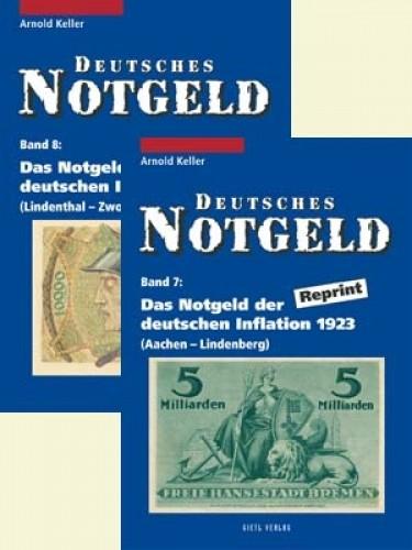 Deutsches Notgeld Band 7+8, Das Notgeld der deutschen Inflation 1923