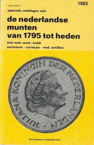 de nederlandse munten van 1795 tot heden (antiquarisch)