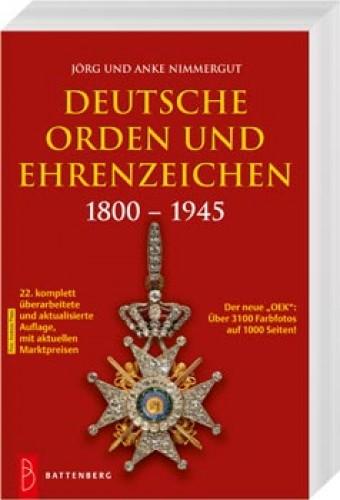 Deutsche Orden und Ehrenzeichen 1800-1945 (OEK)