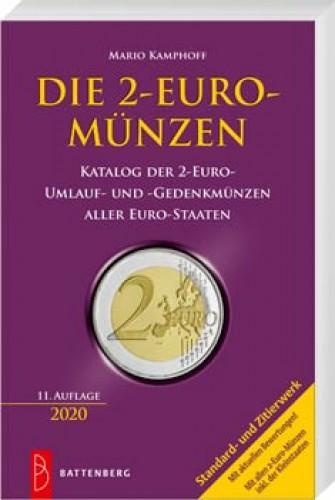 Die 2-Euro Münzen - Auflage 2020