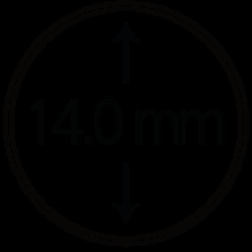 Münzendosen (Münzkapseln) 14 mm