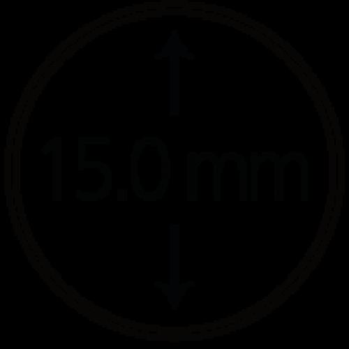 Münzendosen (Münzkapseln) 15 mm